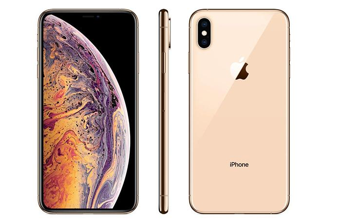Frontal y trasera del iPhone XS Max