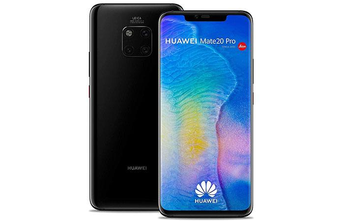 Frontal y trasera del Mate 20 Pro