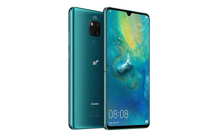 Frontal y trasera Huawei Mate 20 X 5G
