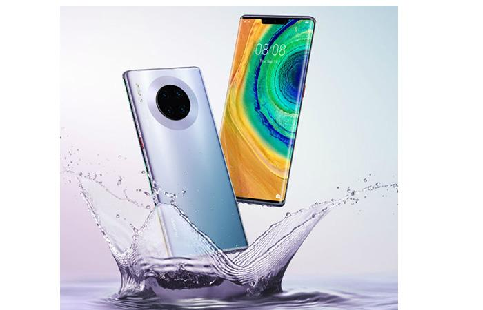 Frontal y trasera del Huawei Mate 30 Pro