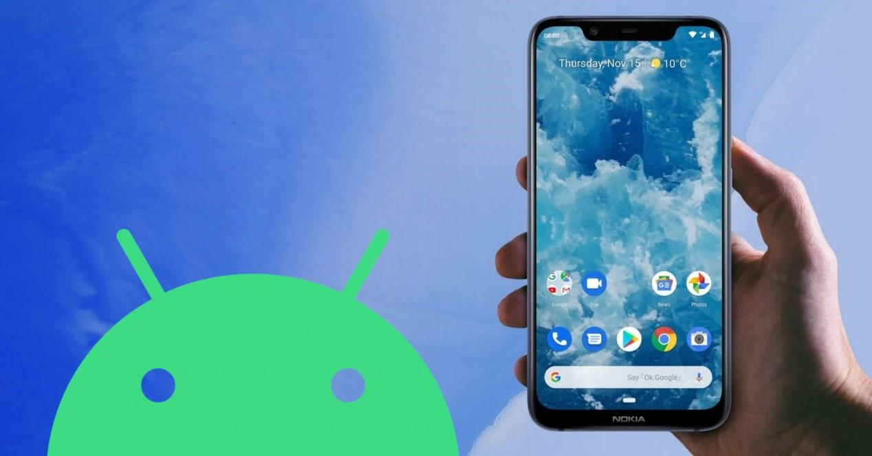 Android 10 nokia 8.1