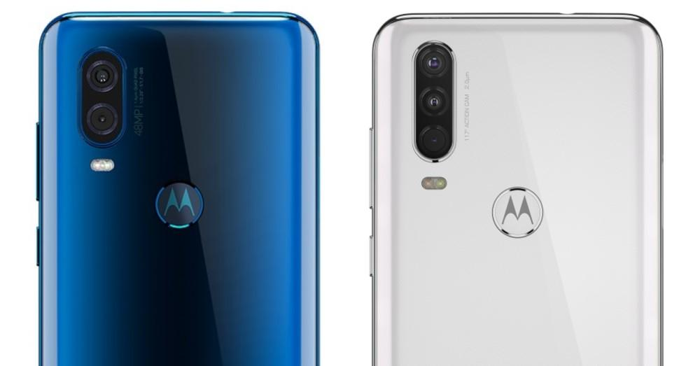 Motorola One Vision vs One Action camaras
