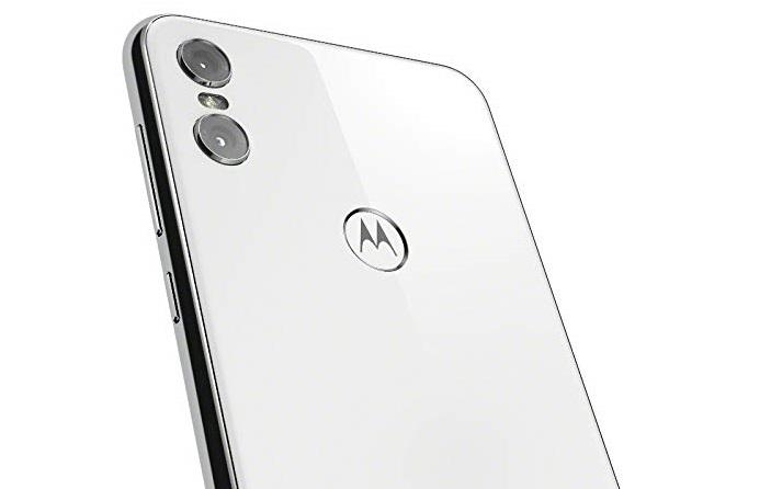 Motorola One blanco