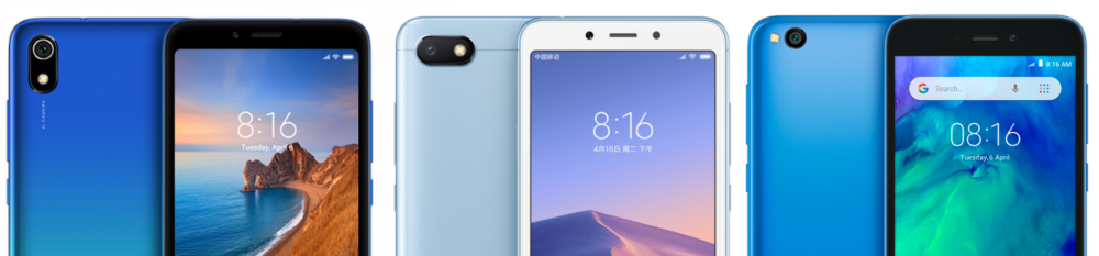 Redmi 7A vs Redmi 6A vs Redmi Go