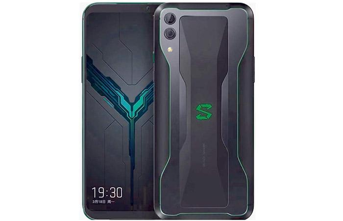 Frontal y trasera del Xiaomi Black Shark 2
