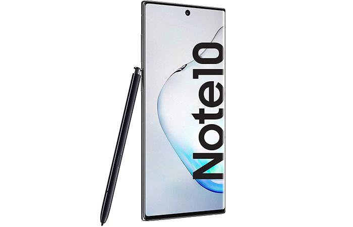 frontal samsung galaxy note 10 y s-pen