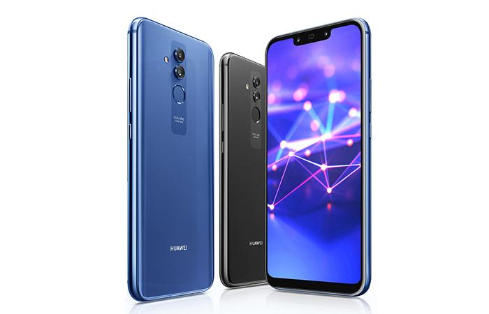 Frontal y trasera del Huawei Mate 20 Lite
