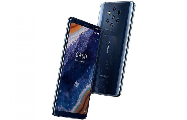 nokia 9 pureview frontal y trasera