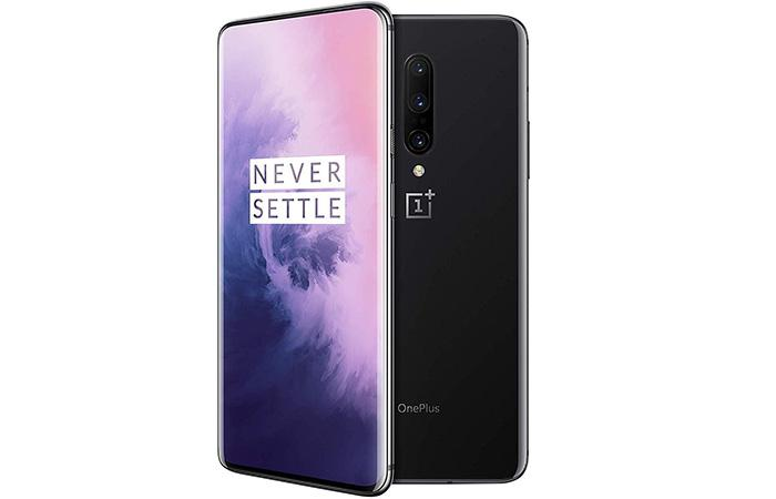 frontal y trasera oneplus 7 pro