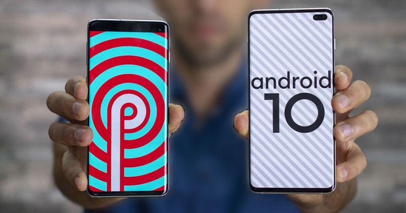 Galaxy S10+ android 9 pie android 10