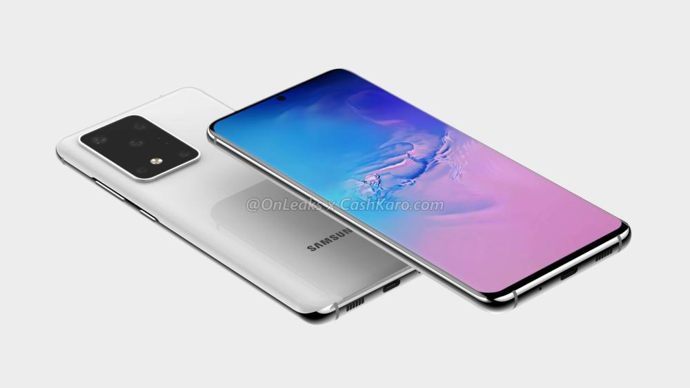 Galaxy S11 Plus render 01