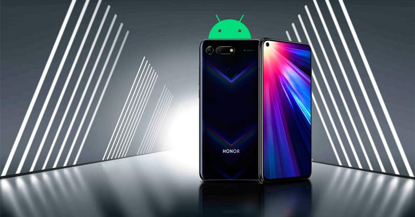 Honor View 20 y Android 10