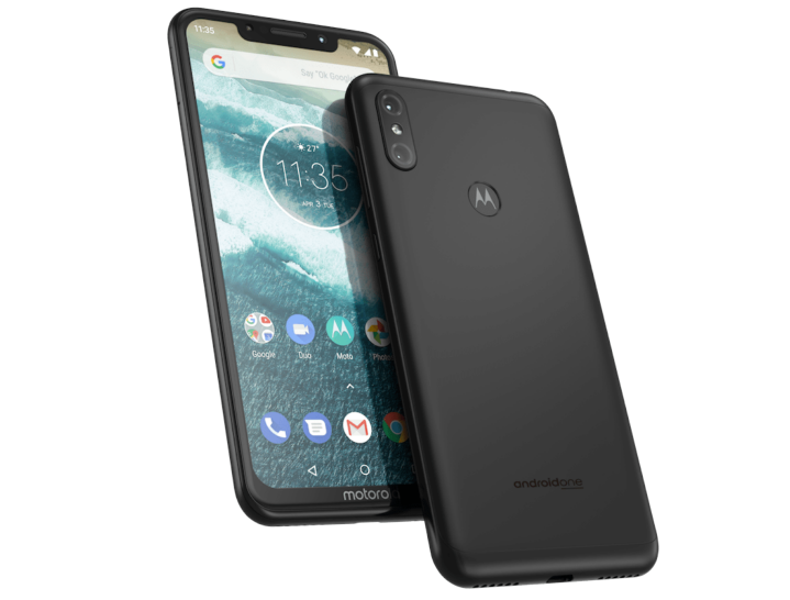 Motorola One Power sin fondo