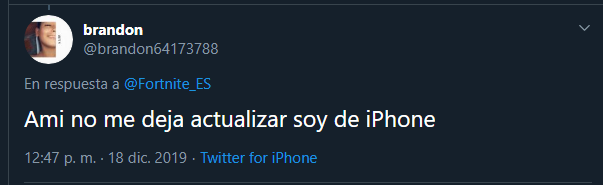 Problema Fortnite iPhone
