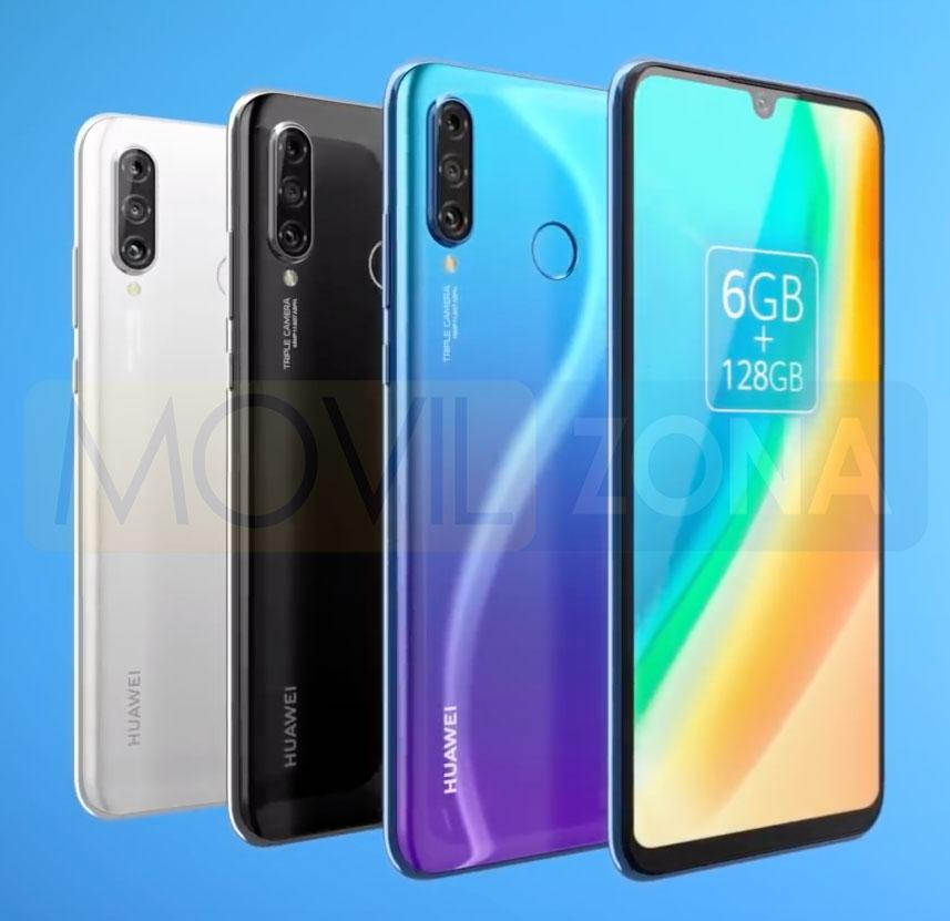 Huawei P30 Lite New Edition colores