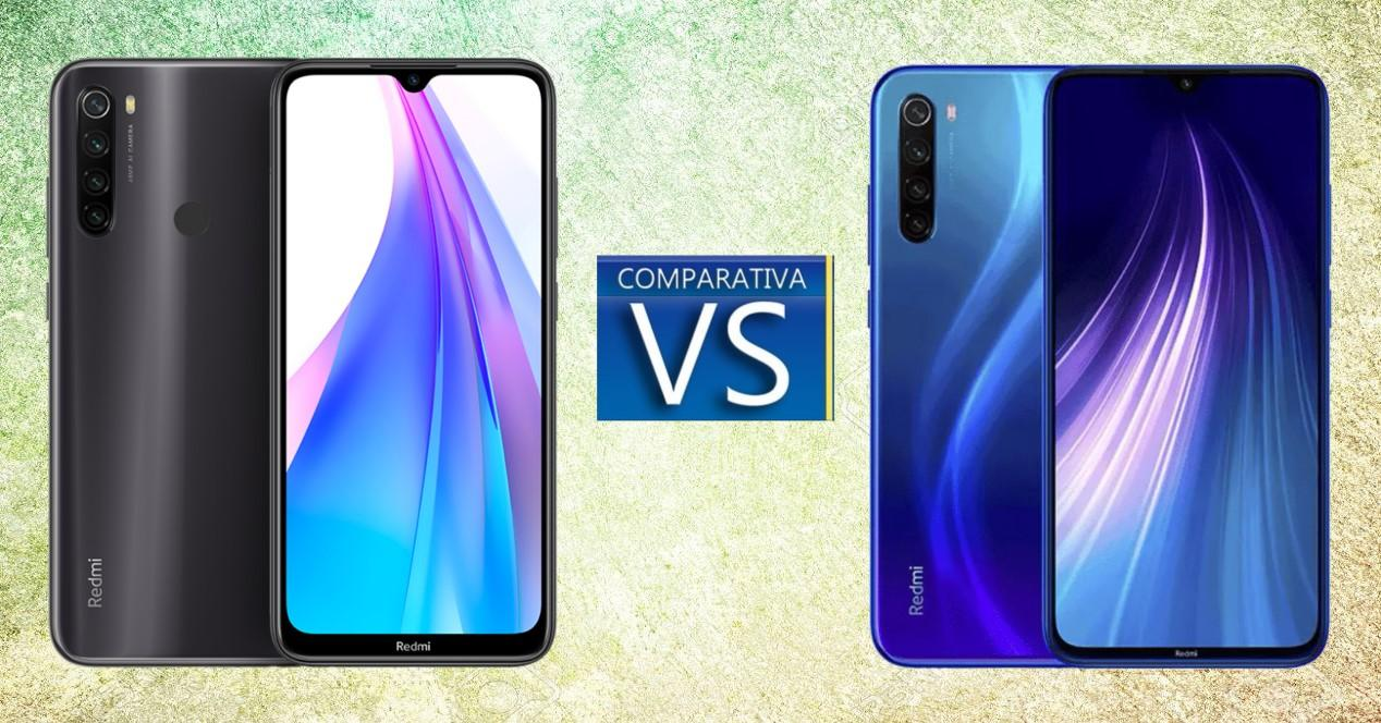 Xiaomi Redmi 8T vs Redmi Note 8