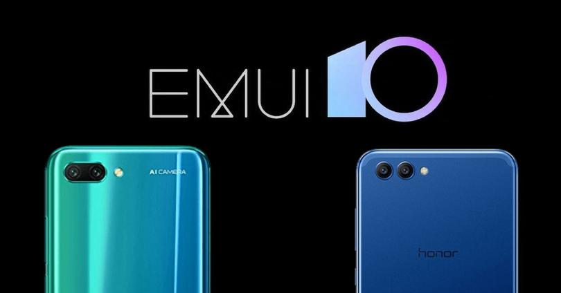 Honor 10 y Honor View 10 emui 10
