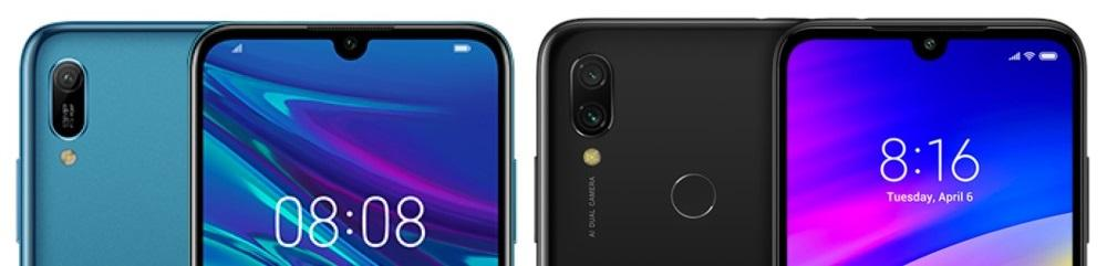 Huawei Y6 vs Redmi Note 7 camaras