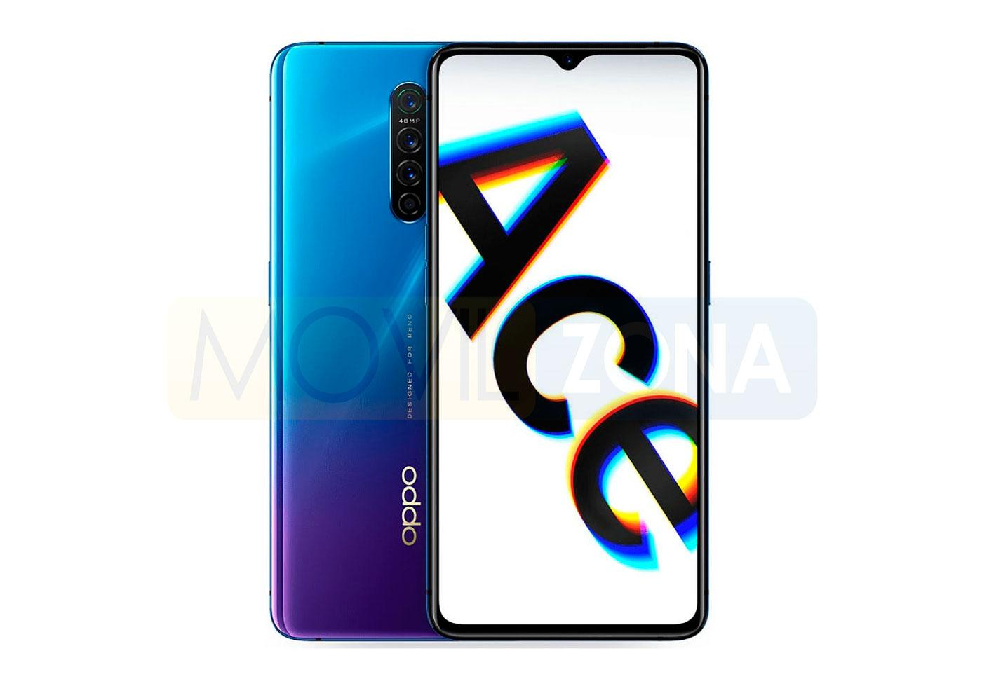 OPPO Reno Ace color