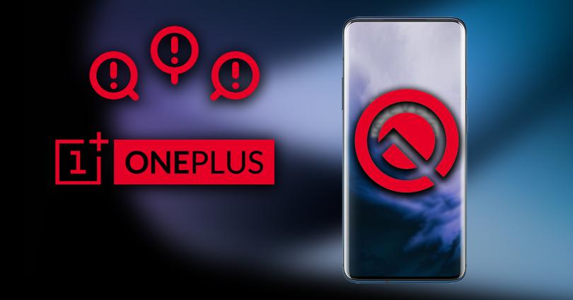 Problemas OnePlus Android 10