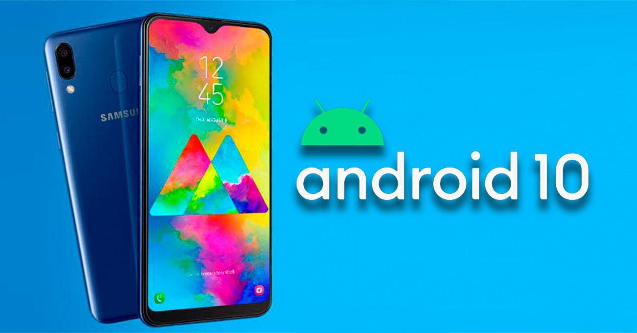 android 10 Galaxy m20