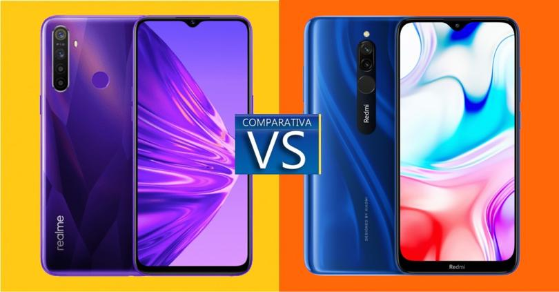 realme 5 vs redmi 8 comparativa