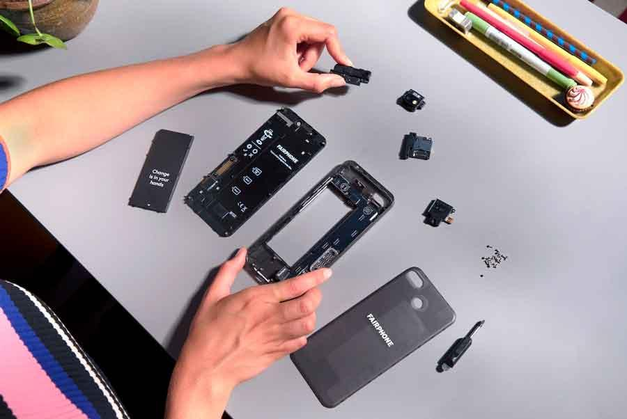 Fairphone partes