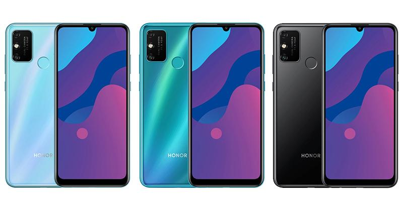 Honor 9A colores