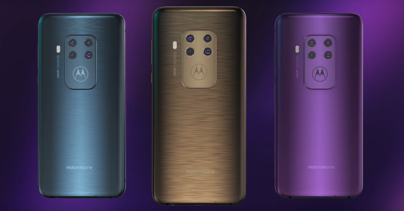 Motorola One Zoom colores 01