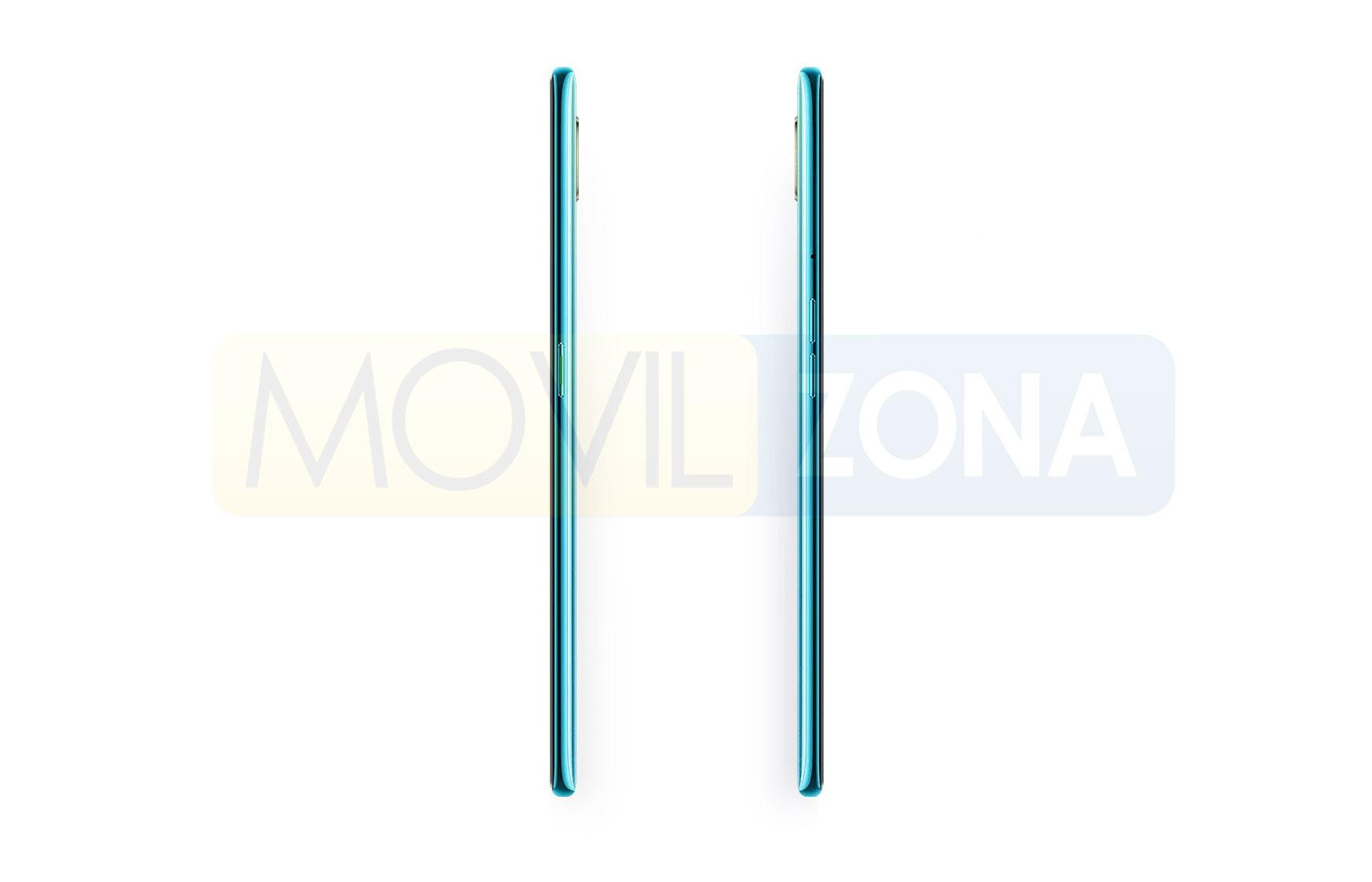 OPPO A9X lateral