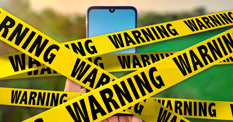 Redmi Note 7 warning