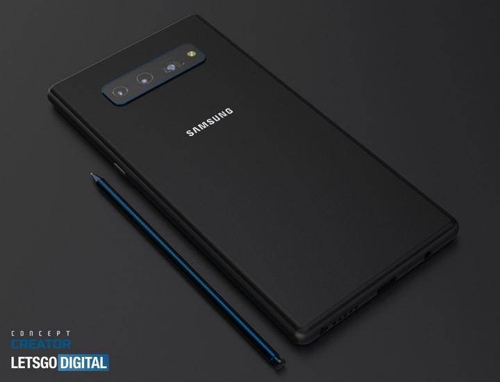 Samsung Galaxy℗ Note 20 render 01
