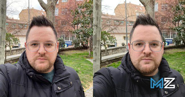 camaras iphone 11 pro vs galaxy s20 ultra - 10 camara frontal sin modo retrato