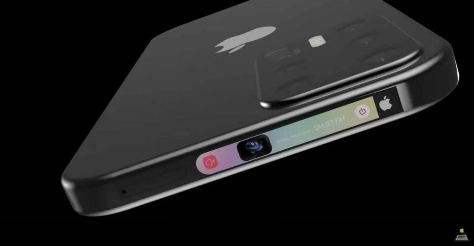 iPhone 12 concepto pantalla