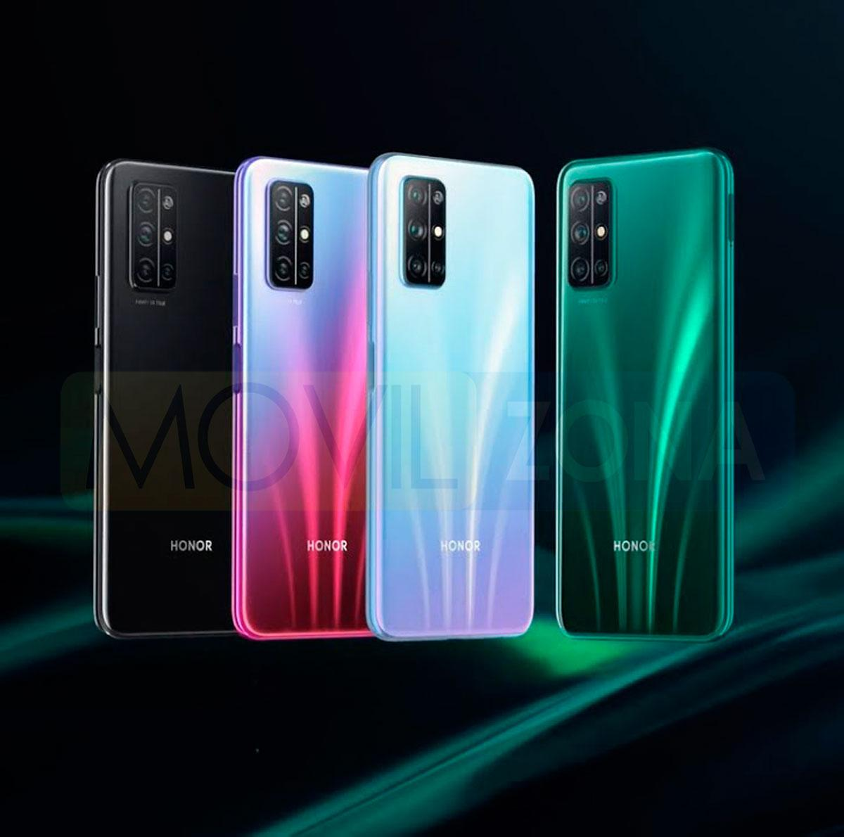 Honor 30s colores