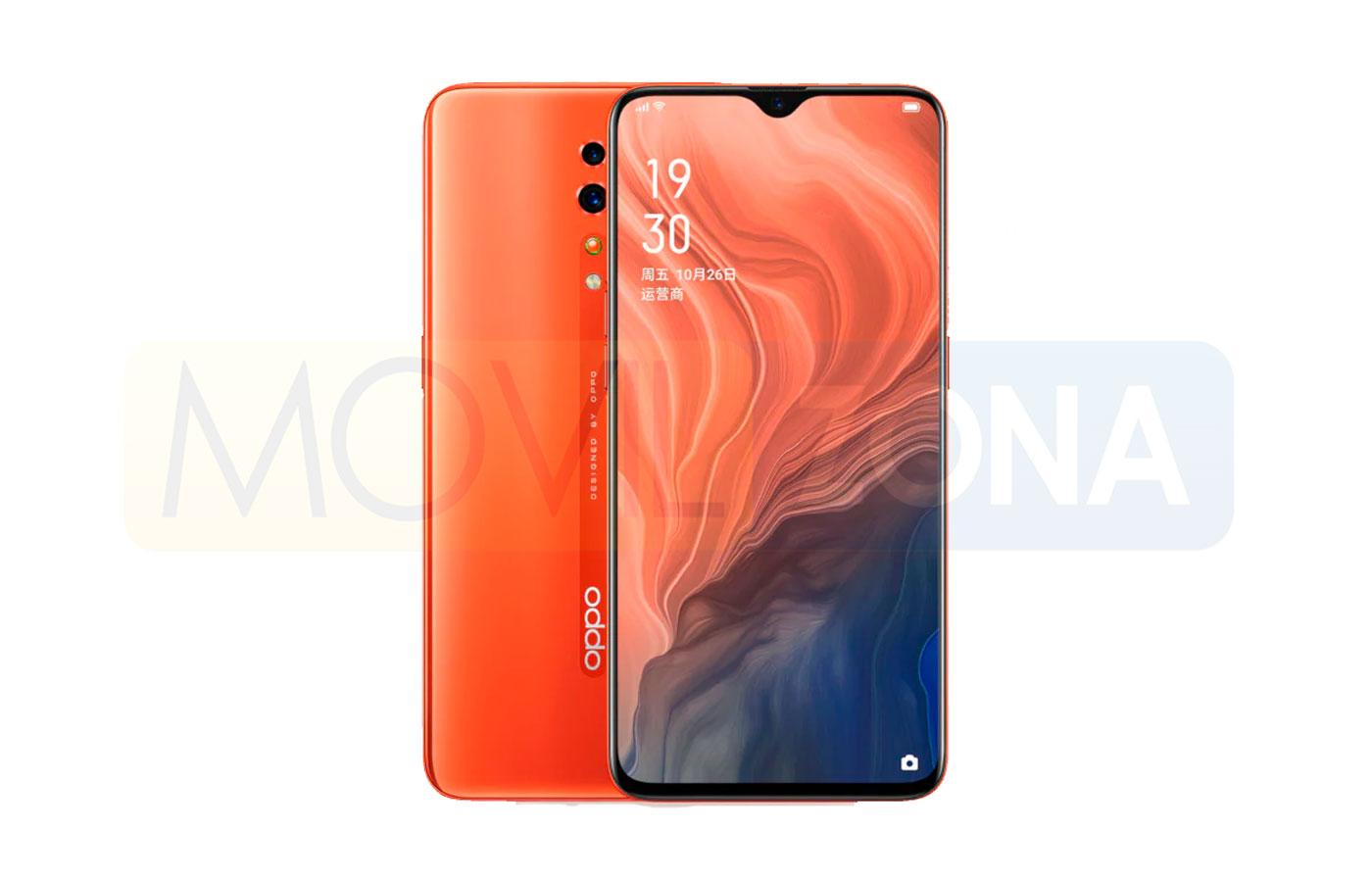 OPPO Reno Z color