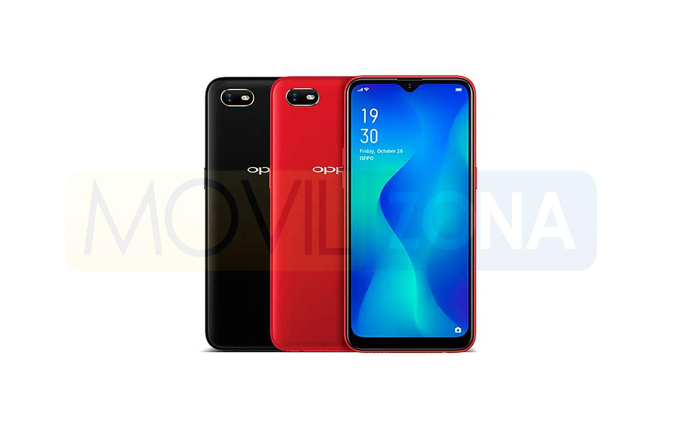 Oppo A1K colores