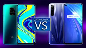 Xiaomi Redmi Note 9s vs Realme 6. ¿Qué gama media es mejor?