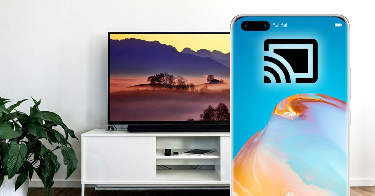 conectar movil huawei a television wifi o cable