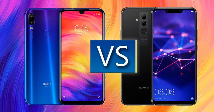 Xiaomi Redmi Note 7 vs Mate 20 Lite