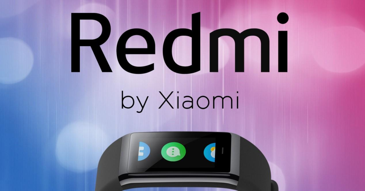 redmi band y logo redmi