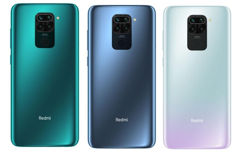 Xiaomi redmi note 9 tres colores