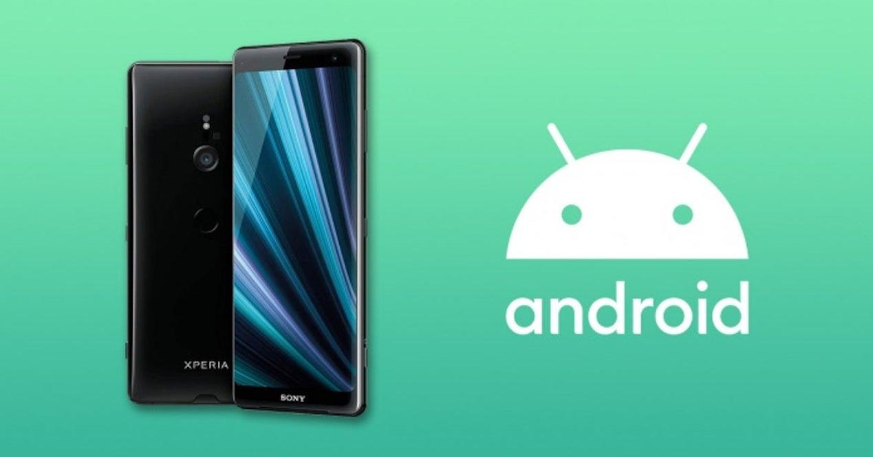 android 10 sony