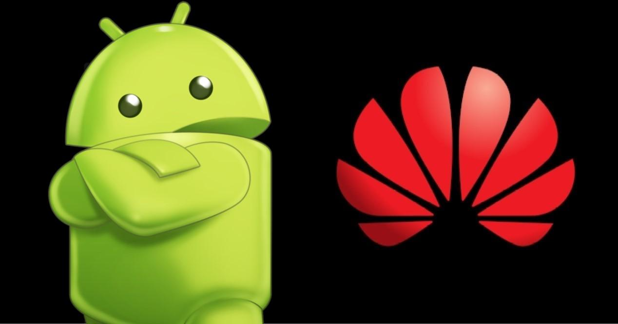 Android y Huawei