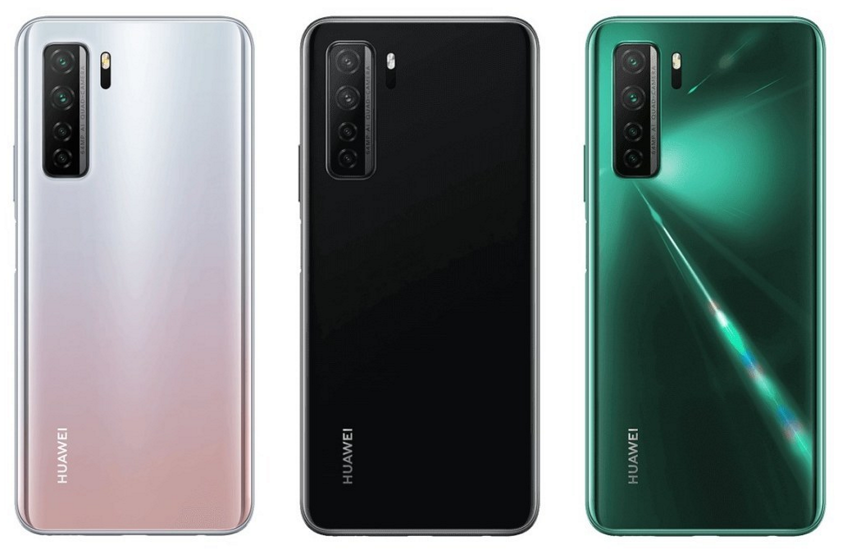Huawei P40 Lite 5G colores