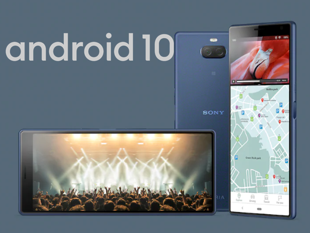 xperia 10 android 10