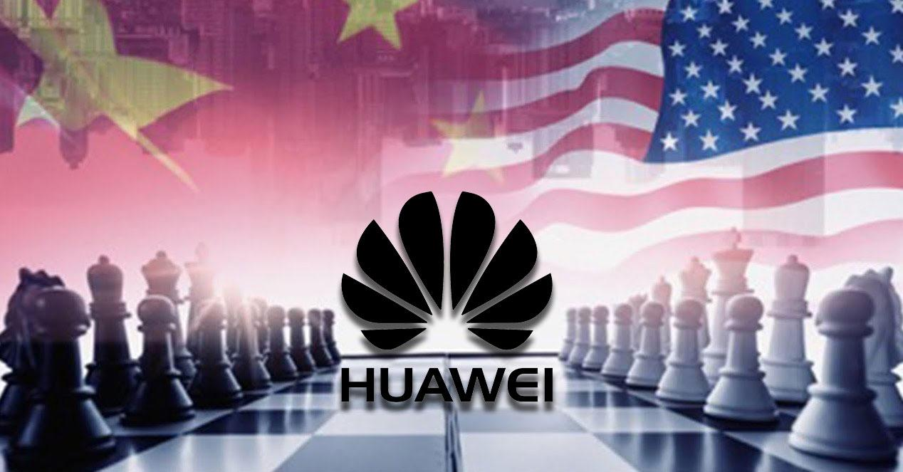 Usa China Huawei Ajedrez