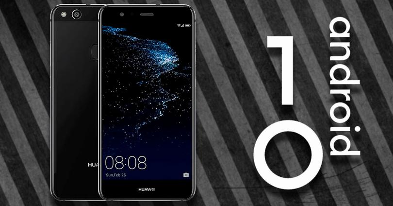Android 10 Huawei p10