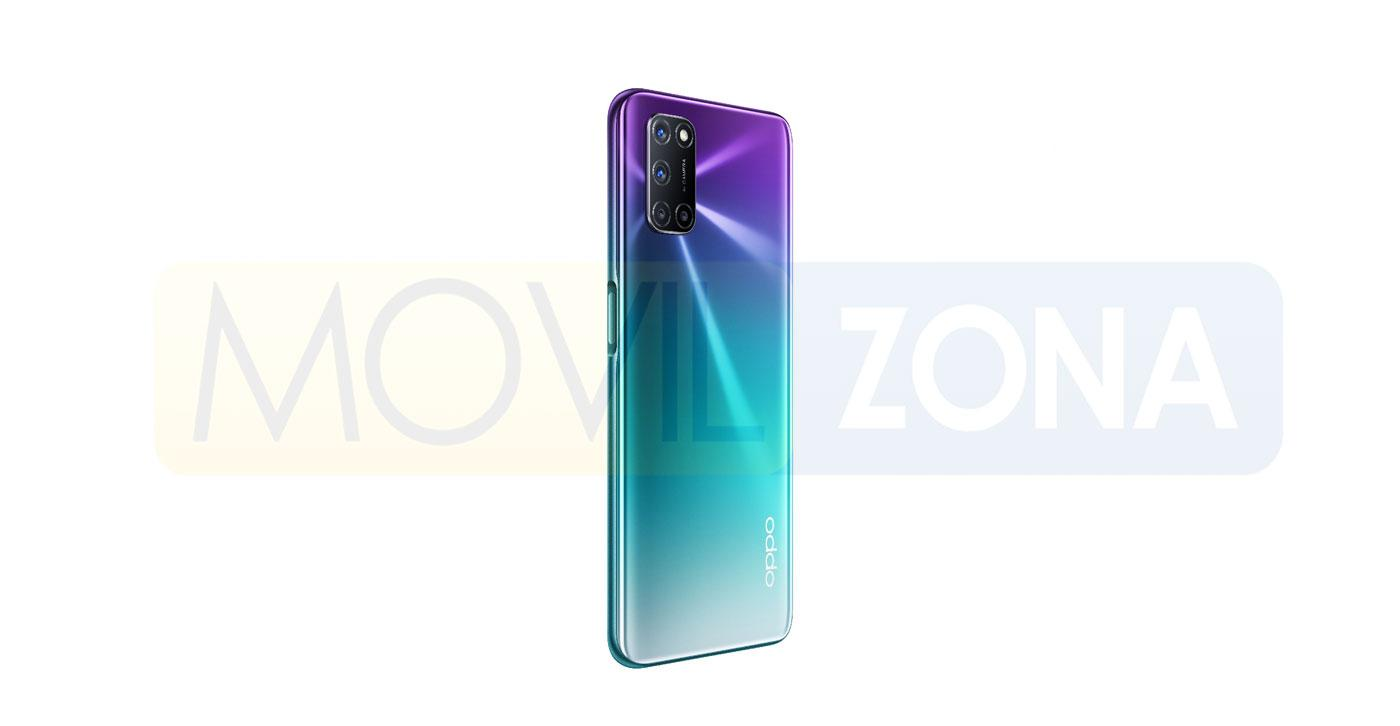 OPPO A92 color