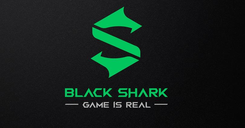 black shark logo